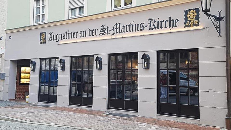 Fassade Augustinerbräu