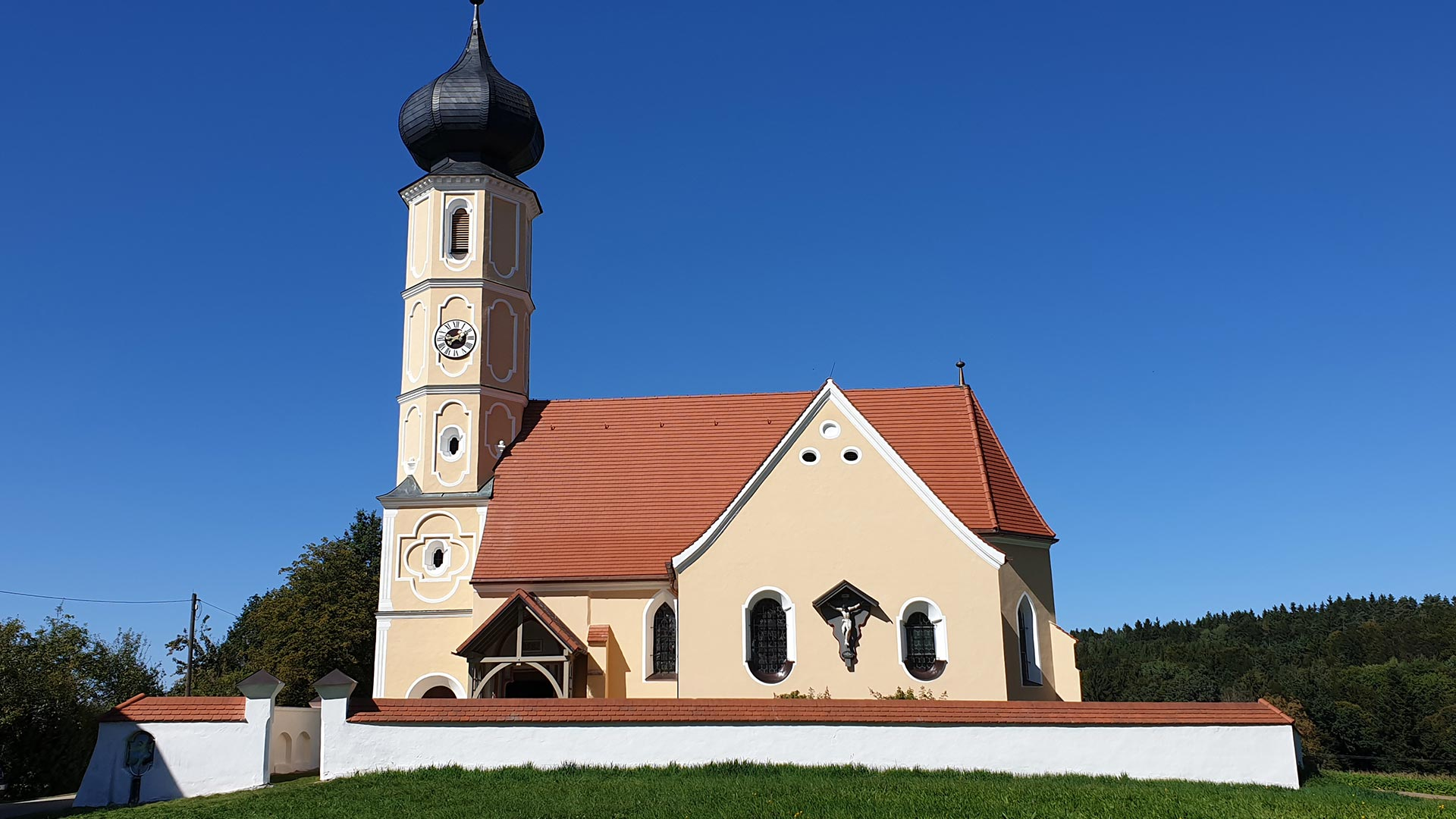 Kirche in Leonberg - Fassade
